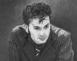 The 10th Doctor by Jellyneau