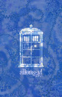 TARDIS Blue by Jellyneau