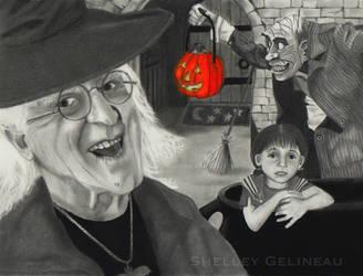 Halloween Tricks by Jellyneau