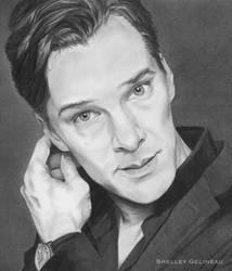 Benedict Cumberbatch by Jellyneau