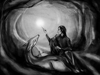 Snape Helps the Doe by joeyv7
