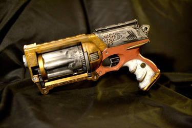 Steampunk Nerf Maverick by Sindeon