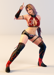 Tina 3DS Render 8 by x2gon