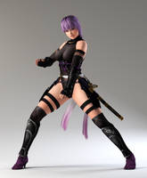 Ayane 3DS Render 40 by x2gon