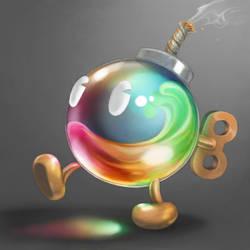 Paintball Bob-Omb by Cortoony