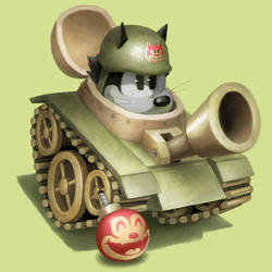 tankcat by Cortoony