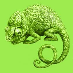 Chameleon by Cortoony