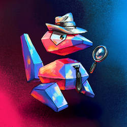 Detective Porygon by Cortoony