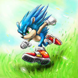 hedgehog the hedgehog by Cortoony