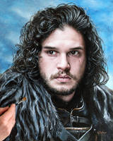 Jon Snow. Lord Commander of the Night's Watch by agusgusart