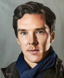Benedict Cumberbatch by agusgusart