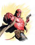 Hellboy by Az-I-Am