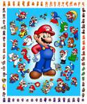 Mario Mania by Az-I-Am