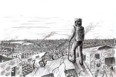 Dystopian Panorama by originalnilson