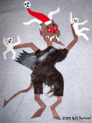 My Ugly Christmas Sweater of Krampus by Dr-Twistid