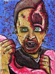 Gavin Zombie Portrait by Dr-Twistid