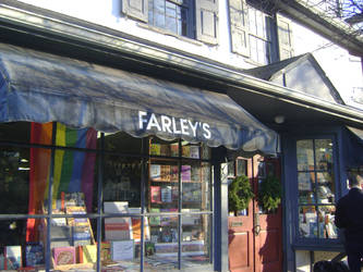 Farleys Bookshop in New Hope PA by ATwistintheMyth