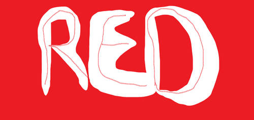 Red logo painting by ATwistintheMyth