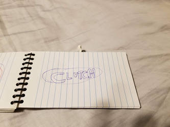 Clutch logo hand drawn by ATwistintheMyth