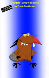 Daggett - Angry Beavers by Frank-Cookieman