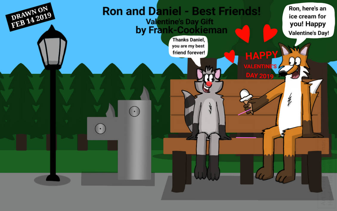 Ron and Daniel - Best Friends! by Frank-Cookieman