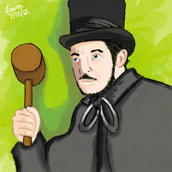 Vincent Price with Hammer by subatomiclaura
