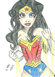 Wonder Woman by TCPhillips