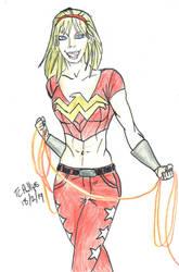 Wonder Girl by TCPhillips