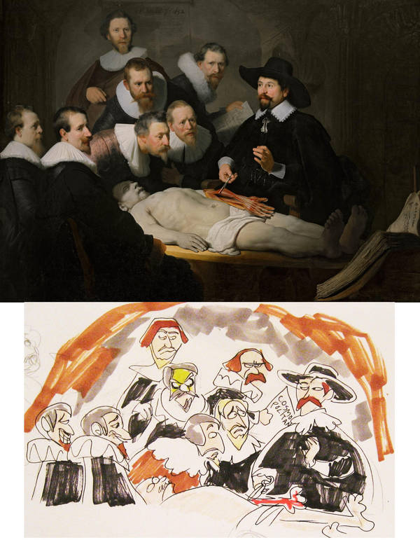 Anatomy Lesson Of Dr Nicolaes Tulp By Deltamimi On Deviantart