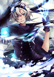 League of Legends - Frosted Ezreal by SquChan