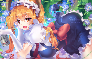 .NSFW available. Tohru by SquChan
