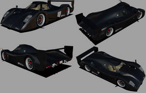 Toyota GT-One Roadcar 5 by Venom800TT