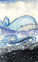 swirls of blue by ayinvui