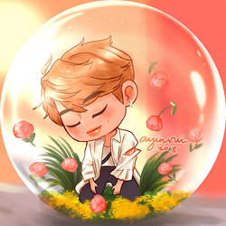 Tiny Namjoon [Love Yourself Answer Concept E] by ayinvui