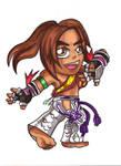Pocket Fighter - Christie Monteiro by fastg35