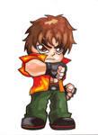 Pocket Fighter - Miguel Caballero Rojo by fastg35