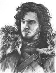 Jon Snow - Scan by Puppy-DollsDead