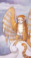 Orange Tabby Sphinx by allytha