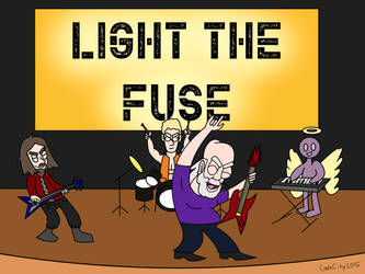 AoG Rock Band (Light The Fuse) by GateCity2015