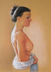 Portrait A. by pwerner4155