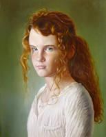 Portrait Ester by pwerner4155