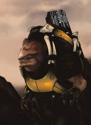 Mass Effect: Andromeda - Drack by 7Zaki