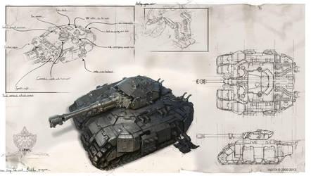 Michalkus-mow2-alliance-siege-tank by MichalKus
