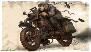 Warlordbiker by MichalKus