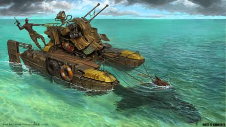 Warlord Seal rider by MichalKus