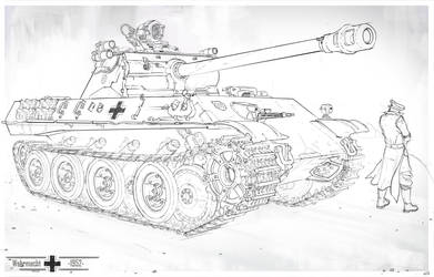 Panther Ausf. M - 1952 by MichalKus