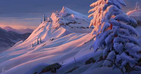 Snowy speedy 4 by MichalKus