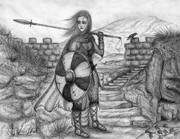 The Shieldmaiden by PhilipHarvey