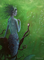 The Mermaid and the Octopus by PhilipHarvey