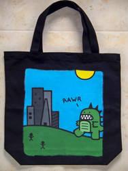 Custom Bag: Godzilla by kustom-kicks